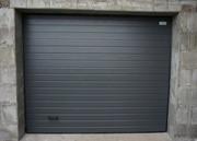 Подъемные гаражные ворота из металлических панелей