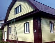 Отделка дома сайдингом,  утепление каменной ватой Минск и обл